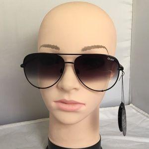 Quay x Desi High Key 111 Mini Sunglasses (ca1)